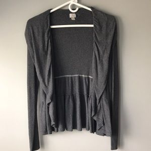 Grey Converse All Star Sweater/Cardigan